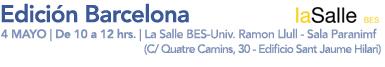 Edición Barcelona: 4 Mayo