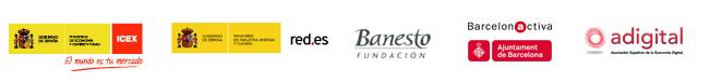 Organizada por ICEX, Red.es, Fundación Banesto, Barcelona Activa y adigital